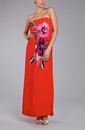 Coast Ethina Embellished Maxi Dress