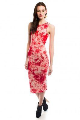 Daisy Street Cally Tie Dye Sleeveless Midi Dress