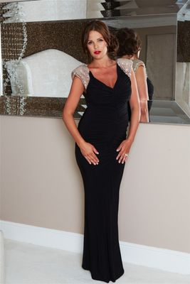 Danielle Lloyd Beyonce Dress