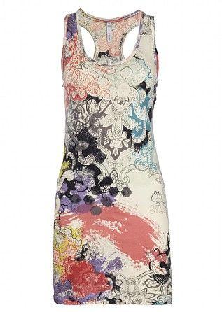Firetrap Racondeconstruct Jersey Dress