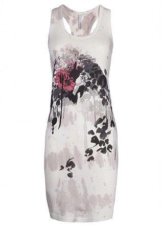 Firetrap Raconteur Ink Vest Dress