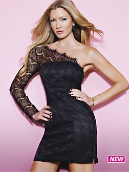 Glam by caprice halter maxi dress