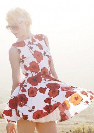 Jones & Jones Audrey Poppy Dress
