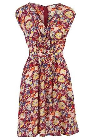 Kew Darcey Floral Tea Dress