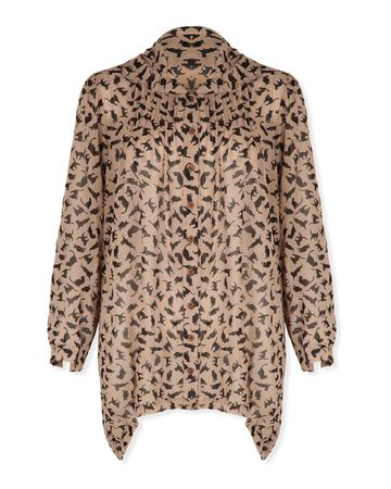 Missguided Cat Blouse