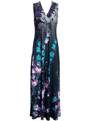 Monsoon Geisha Maxi Dress