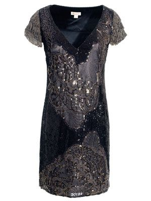 Monsoon Roxbury Sequin Dress