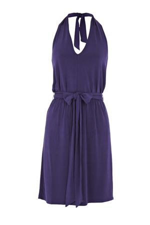 Oasis Slinky Halter Neck Dress