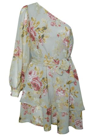 Rare Floaty Sleeve Chiffon Floral Dress