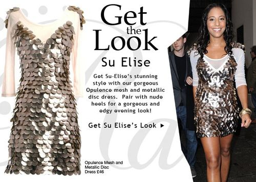 Su Elise Nash Loves Rare Opulence Dresses