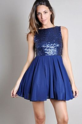 TFNC Alice Sequin Dress