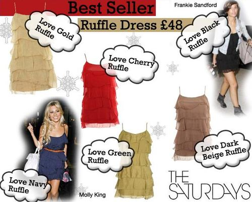 The Saturdays Ruffle Dresses