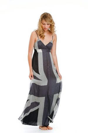 Traffic People Rule Britannia Maxi Dress