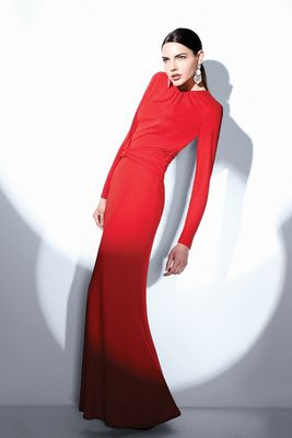 Long Sleeve  Dress on Wallis Red Long Sleeve Maxi Dress This Timeless Maxi Dress
