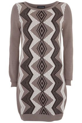 Warehouse Tribal Dress