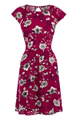 Warehouse Wallpaper Floral Dress