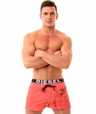 ... of Spring/Summer swimwear for men. Diesel Barrely Coral Swim Shorts.