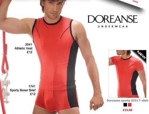 Doreanse Sports Underwear