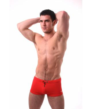 Emporio Armani Red Swimming Shorts