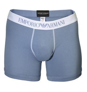 Emporio Armani Stretch Cotton Logo Boxer Trunk