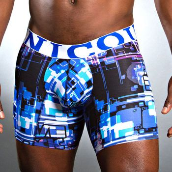 Mundo Unico Blues Medio Boxer Brief