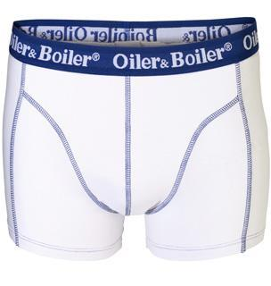 Oiler & Boiler Nantucket White Boxer Trunk