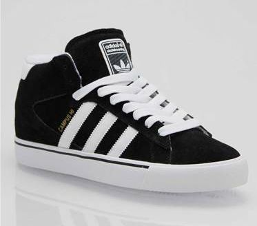 Adidas Campus Vulc Mid Skate Shoes. The Campus Vulc Mid is modeled on one of the most iconic Adidas shoes of all time. Raised to a 'mid' and revamped into a