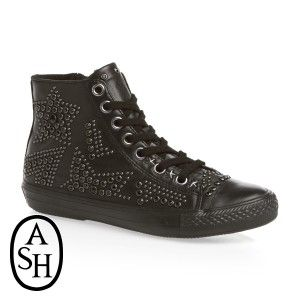 Ash Vibration Bis Hi Top Trainers