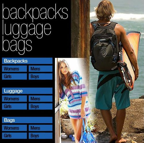 Backpacks At Surfdome