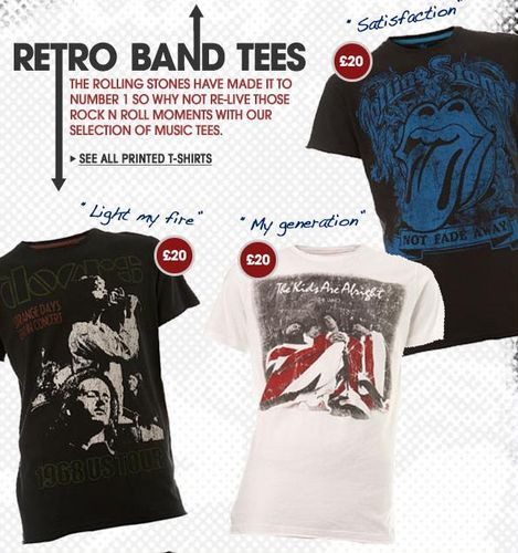 Burton Retro Band T-Shirts
