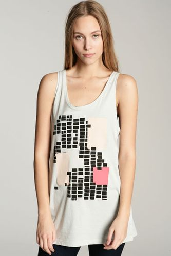 Cheap Monday Zero Print Oversized Tank