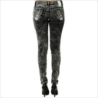 Criminal Damage Womens Skinny Jeans