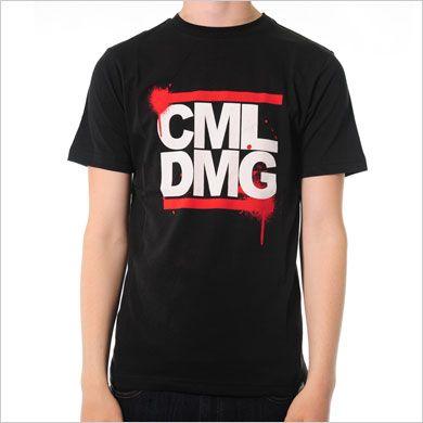 Criminal Damage Run T-Shirt