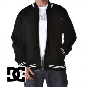 DC Pub Jacket . Mens athletic style jacket, Full front zip closure