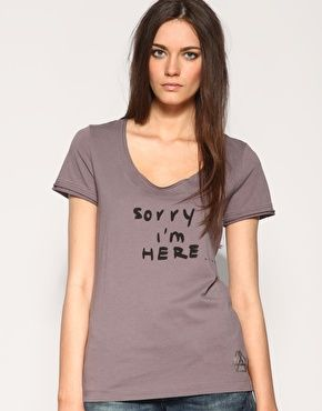 Diesel Sorry I'm Here T-Shirt