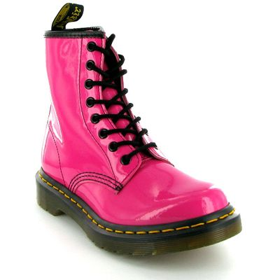 Dr Martens 1460W Hot Pink Boots