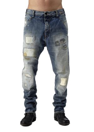 Firetrap Speer Pant Carrot Fit JeansIf you like your denim edgy