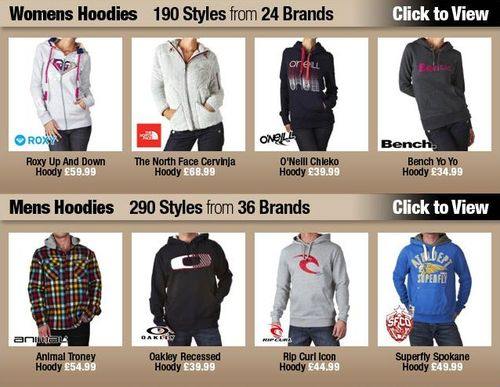 Mens And Womens Hoodies