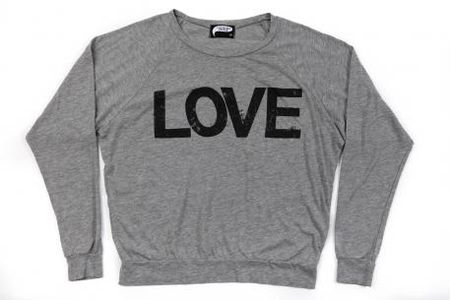 Illustrated People Raglan Love Jumper