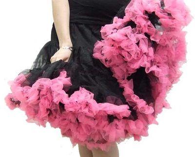 Ruffle Petticoat Skirts