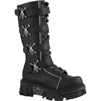 Madfish Big Zipper Boots