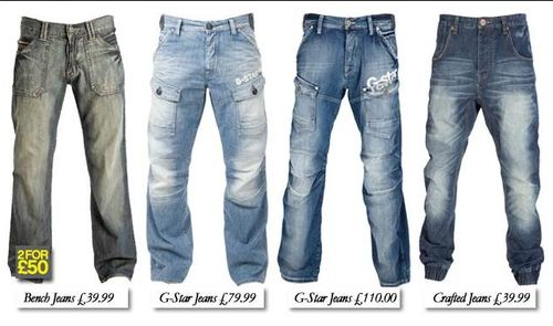 Styles Of Mens Jeans - Legends Jeans