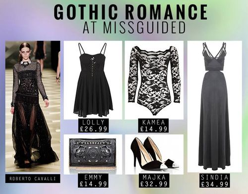 Missguided Gothic Romance Trend