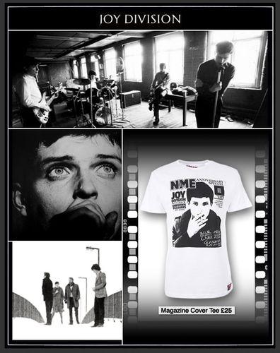 NME Joy Division T-shirt