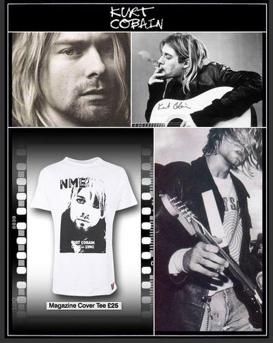 NME Kurt Cobain T-shirt