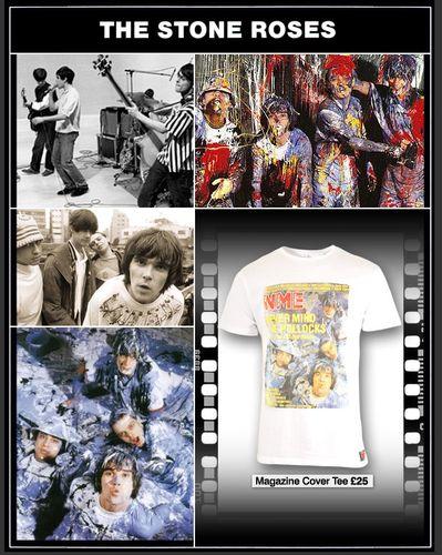 NME Stone Roses T-shirt