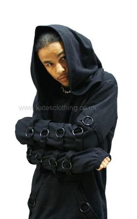 Necessary Evil Cratos O-ring Hoodie
