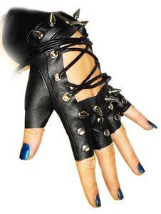 Punk Rave Spiked Glove a really high impact accessory suitable for