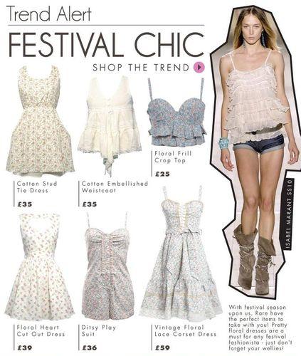 Rare Festival Fashion