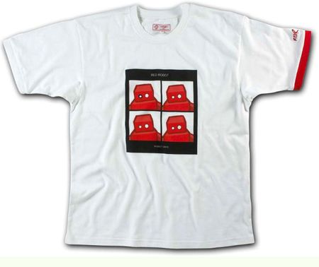 Red Robot Robot Days T-Shirt